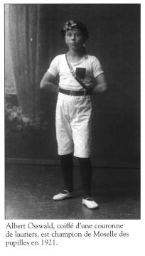1921 - Albert Osswald - Chamipon de Moselle pupille